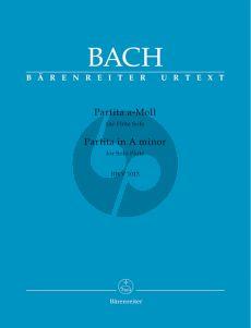 Bach Partita a-minor (BWV 1013) (edited by H.P.Schmitz) (Barenreiter-Urtext)