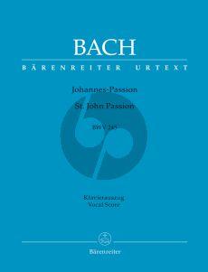 Bach Johannes Passion BWV 245 Vocal Score