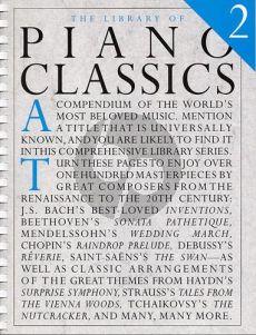 Library of Piano Classics Volume 2