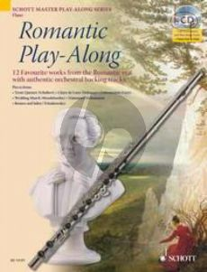 Romantic Play-Along (Flute) (12 Favourite Works with authentic orchestral backing tracks) (Bk-Cd)