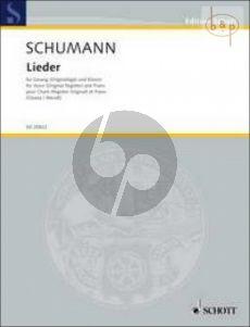 Lieder (original register) (edited by K.Ozawa & M.Wendt)