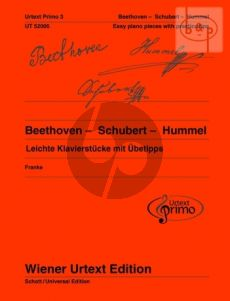 Leichte Klavierstucke mit Ubetipps (Easy Piano Pieces with Practice Tips)
