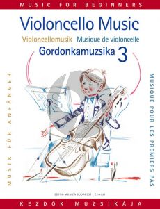 Album Violoncello-Music for Beginners Vol.3