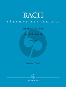 Bach Johannes Passion BWV 245 Soli-Chor-Orchester Partitur (herausgegeben von Arthur Mendel)