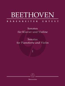 Beethoven Sonatas Vol. 1 Violin and Piano (edited by Clive Brown)