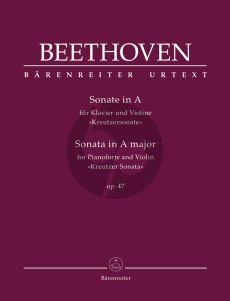 "Beethoven Sonata A-major Op. 47 ""Kreutzer Sonata"" Violin and Piano (Clive Brown)"
