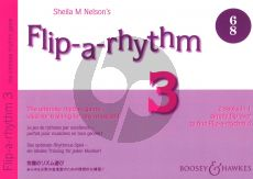 Nelson Flip-a-Rhythm Book 3 - 4 (The Ultimate Rhythm Game - Ideal Training for any Musician!)