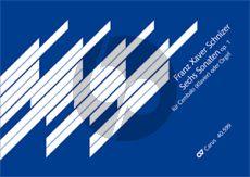 Schnitzer 6 Sonaten Op.1 Cembalo (oder Orgel) (Franz Lehrndorfer)