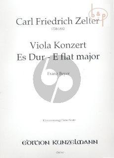 Konzert Es-dur (Viola-Orch.)