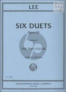 6 Duets Op. 60 Vol. 2 2 Cellos