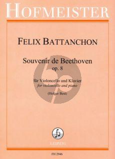 Battanchon Souvenir de Beethoven Op.8 Violoncello-Klavier (Holger Best)