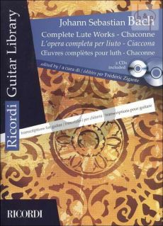 Complete Lute Works BWV 995 - 1001 with Chaconne