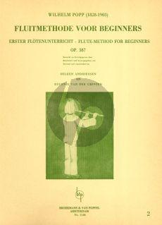 Popp Method for Beginners Op.387 Vol.2 Flute (Heleen Andriessen and Eugenie van der Grinten)