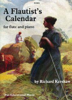 Flautist's Calendar Flute-Piano