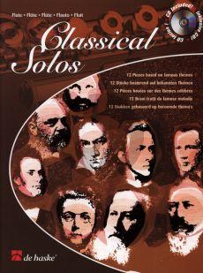 Classical Solos for Flute (12 Famous Pieces) (Bk-Cd) (interm.) (grade 4) (arr.M.Friedmann)