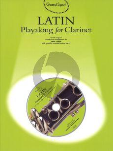 Guest Spot Latin Playalong for Clarinet (Bk-Cd) (interm.)