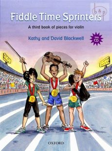 Blackwell Fiddle Time Sprinters (A Third Book of Pieces for the Violin) Book with Cd (Revised Edition)