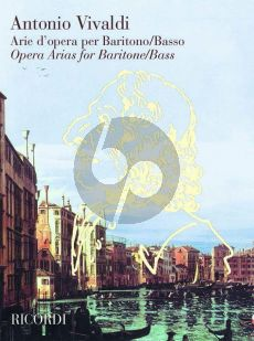 Vivaldi Opera Arias Baritone - Bass (edited by F.M.Sardelli)