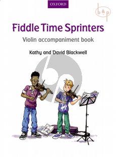 Fiddle Time Sprinters Violin Accompaniment Book