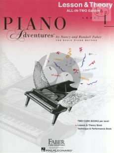 Piano Adventures Lesson & Theory Book level 1