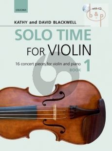 Solo Time for Violin Vol.1 (16 Concert Pieces)