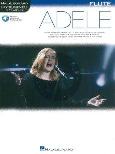 Adele Instrumental Play-Along Flute