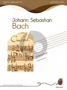 Bach Ciaccona for Guitar Solo (Alberto Ponce)