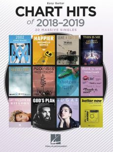 Chart Hits Of 2018-2019 Easy Guitar