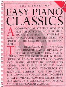 Library of Easy Piano Classics Volume 2