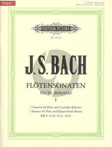Bach J.S. Sonaten Vol.1 (No.1-3) (Urtext) (Hampe/Eberth)