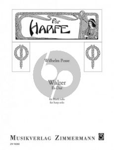 Posse Walzer No.2 Es-Dur Harfe