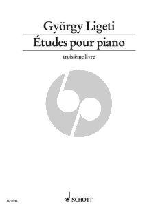 Ligeti Etuden Vol.3 Heft 1 Klavier (1995 - 2001)