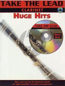 Take the Lead Huge Hits Clarinet (Bk-Cd)