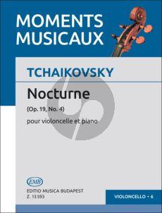 Tchaikovsky Nocturne Op.19 No.4 Violoncello-Piano (Arpad Pejtsik)