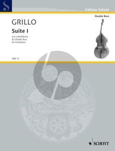 Grillo Suite No.1 d-minor Double Bass solo (1983 / 2005) (Advanced)