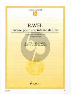 Ravel Pavane pour une infante defunte Flute and Piano (arr. Wolfgang Birtel)