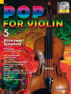 Pop for Violin Vol.5 Bittersweet Symphony (12 Pop Hits with a 2nd. Violin)