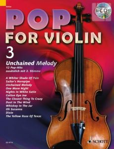 Pop for Violin Vol.3 Unchained Melody (12 Pop Hits with a 2nd.violin)