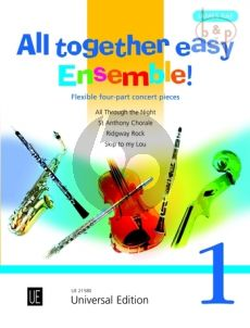 All Together Easy Ensemble! 1 (Flexible 4 Part Concert Pieces)