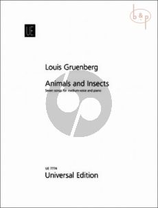 Animals and Insects Op.22 (7 Songs)