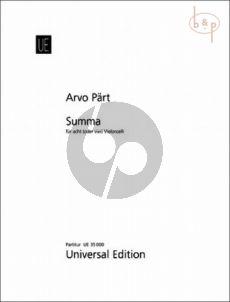 Summa (1977 / 2010)