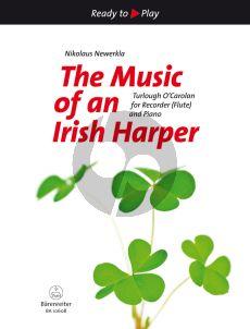 O'Carolan Music of an Irish Harper Recorder [S/A] [Flute]- Piano (2nd.part opt.) (arr. Nikolaus Newerkla)