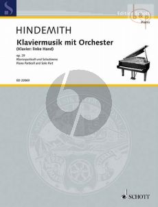Klaviermusik mit Orchester Op.29