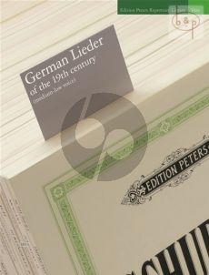 German Lieder of the 19th. Century