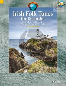 Irish Folk Tunes for Descant Recorder (63 Traditional Pieces)