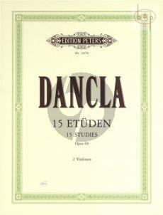 15 Etuden Op.68 Violine
