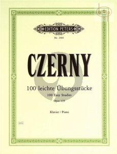 100 Fortschreitende Ubungsstücke Op.139 Klavier