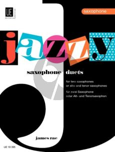 Rae Jazzy Duets (for Young Players) for 2 Saxophones (Alto or Tenor)