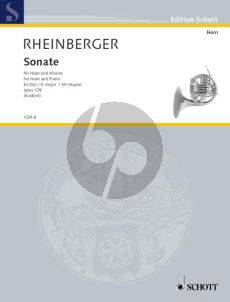 Rheinberger Sonate Es-dur Opus 178 Horn und Klavier (M.S. Kastner)