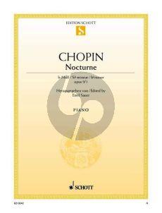 Chopin Nocturne b-Moll Op.9 No.1 Klavier (Emil Sauer)